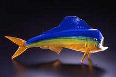 Glass #MahiMahi Sculpture - Soul Glass
