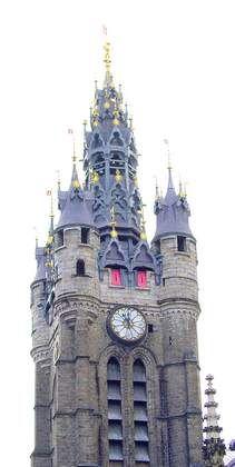 Beffroi de l'Hôtel de ville de #Douai #Berguesaime