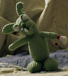 Zombie Rabbit crochet