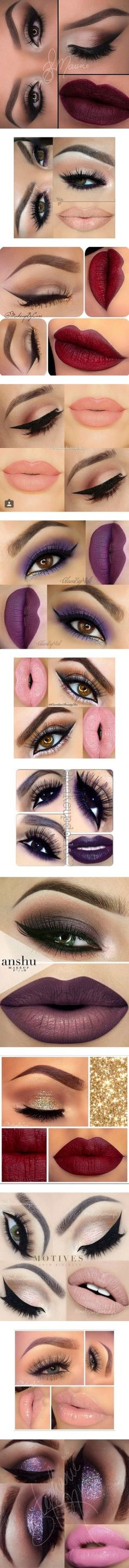 Make Up by dorastyles-clxiv on Polyvore featuring makeup, beauty products, eye makeup, beauty, lipstick, eyes, lips, lip makeup, maquiagem and face makeup