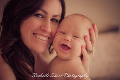 Beautifully captured mommy and baby moment <3