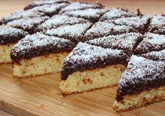 Csokis-kókuszos piskóta New Recipes, Cooking Recipes, Hungarian Recipes, Desert Recipes, Nutella, Cheesecake, Food And Drink, Gem, Sweets