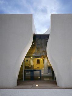Музей, Франция, Ricciotti Architect