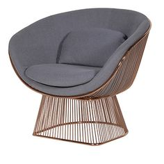 The Delano Copper Large Tub Chair