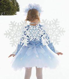 snowflake sparkle wings