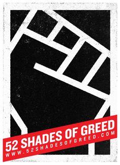 52 SHADES OF GREED - Daniel Nyari Graphic Design & Illustration