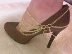 "I made this ""shoe jewelry"" myself!"