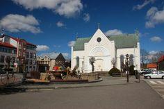 Czaplinek City #Poland Lake District, Mansions, House Styles, City, Brandenburg, Poland, Manor Houses, Villas, Mansion
