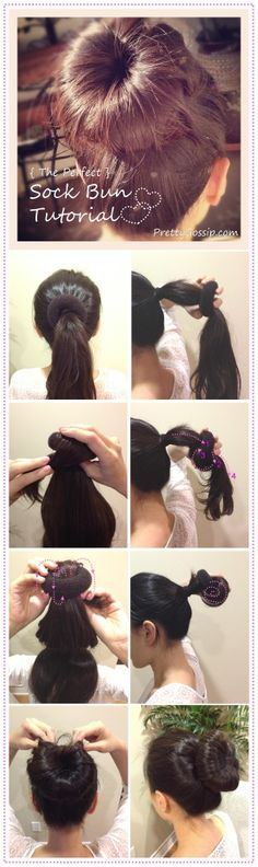 Sock-Bun-Tutorial