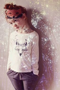 le motif pull de ski / ou élan  Kids fashion - Emile et Ida - Fall-Winter 2014 Collection