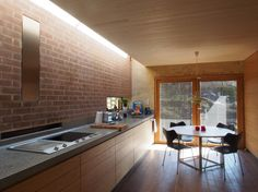 Singe family house in Bærum - by Knut Hjeltnes Furniture, House Design, House, Interior, Table, Home Decor, Kitchen, Conference Room Table, Norwegian Architecture