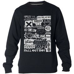 Fall out boy bands Green Day singers 5sos Sweatshirt Sweater Crewneck Men or Women Unisex Size