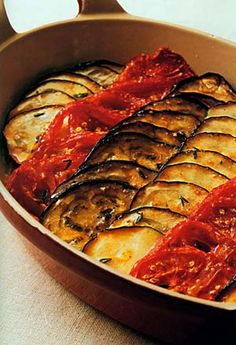 my favorite recipe for bayaldi (adaptation of ratatouille), taken from french chef paul bocuse. just too delicious.