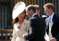 Kate Middleton in Zara Phillips and Mike Tindall at Canongate Kirk