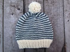 Learning how to knit a hat that is both stylish and warm just got easier with the Maker Monday Hat. This easy knit hat pattern is great for beginner knitters and veteran knitters alike. If you know how to knit in the round, you're halfway there!