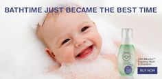 Gently cleanses the skin and hair with surfactants derived from coconut oil Moisturizes and conditions your baby's hair