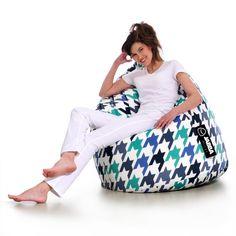 Pufa Rocket – w stylu retro / loft - Jabba Design Retro Rocket, Bean Bag Chair, Bags, Furniture, Design, Home Decor, Fashion, Handbags, Moda
