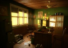 Detective's Office by teohcheeeing on deviantART
