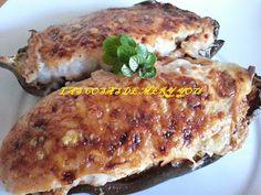 Receta de berenjenas super facil de hacer y bajita de #propoints. #entulinea #adelgazar disfrutando de la comida que te gusta.
