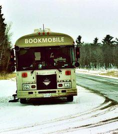 Minnesota abandoned bookmobile
