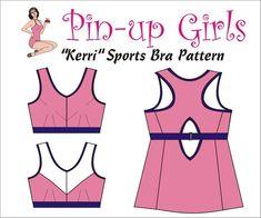 741e86c70f058 The KERRI Sports bra PATTERN by Pin Up Girls