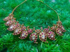 Gold Jewellery Design, Bead Jewellery, Gold Jewelry, Antic Jewellery, Designer Jewellery, India Jewelry, Bridal Jewellery, Mango Necklace, Jewelry Patterns