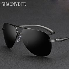 2017 NEW Brand Men 100% Polarized Aluminum Alloy Frame Sunglasses Fashion Men's Driving Sunglasses Oculos De Sol A143 men suits ** Click the image to find out more on AliExpress website