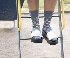 silkscreen socks! www.pilimili.es