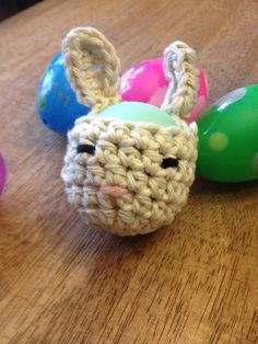 Bunny EOS Lip Balm Holder/Treat Pouch (EOS not included) on Etsy, $9.50