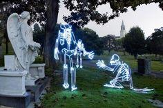 A vida secreta dos esqueletos de luz