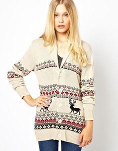 Pretty Vacant Reindeer Cardigan