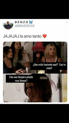 Pretty little liars Pretty Little Liars Español, Pretty Little Liars Netflix, Pretty Little Lies, Pretty And Cute, Hanna Marin Quotes, Pll Memes, Memes Lindos, Disney And More, How To Make Money