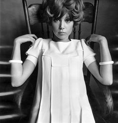 Pattie Boyd, photo by Ronald Traeger, 1960s  Ronald Traeger/The Condé Nast Publications Ltd./trunkarchive.com