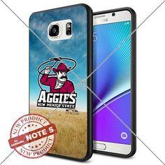NEW New Mexico State Aggies Logo NCAA #1368 Samsung Note5 Black Case Smartphone Case Cover Collector TPU Rubber original by SHUMMA [Breaking Bad], http://www.amazon.com/dp/B01849CNA8/ref=cm_sw_r_pi_awdm_dKm7wb1AB5WQT