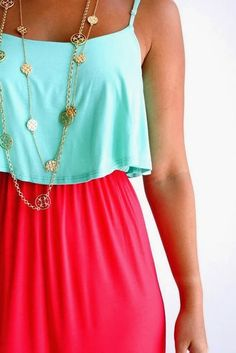 Adorable Mint Blouse With Maxi Skirt