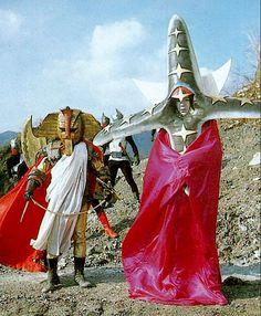 Villains Black Cross Führer & Chief Golden Mask from Goranger (1977)