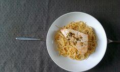 pasta met zwaardvis