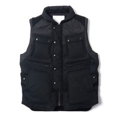 White Mountaineering Luggage Down Vest Merchandise Bags, Cycle Chic, Down Vest, Mens Fashion, Fashion Outfits, Mountaineering, Carry On, Menswear, My Style