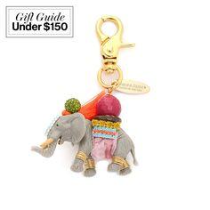 Lenora Dame elephant bag charm, $65, shopbop.com
