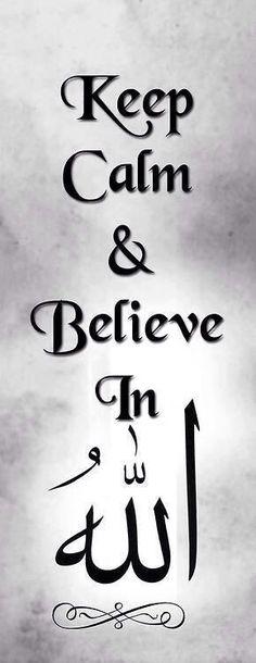Believe in Allah
