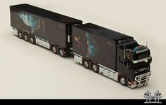 Scania R560 V8 'Black Pearl' (1:16 in Lego) | More than a ye… | Flickr