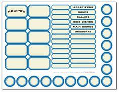 blue labels