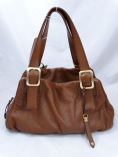 Just in! Cole Haan Brown Pebbled Leather Kendra East West Tote Bag. Save up to 70% off retail at www.ShopKarma.com. High end pre owned designer bags, clothing, shoes and accessories. #karmacouture #shopkarma #upscaleresale #shopresale #consignment #designer #fashion #style #colehaan #handbags