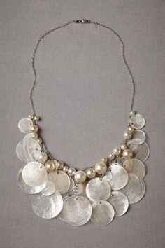 neutral motif Purse Seine Necklace | BHLDN