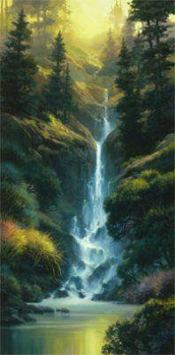 Kaibab Canyon Falls // Artist: Charles Pabst