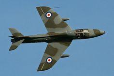 Hawker Hunter T7 'WV372 / R' #plane #1960s