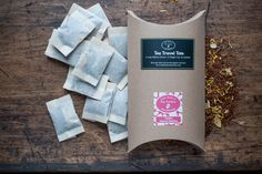 The Tea Travel Tote. A great way to take your favourite tea with you when you travel.