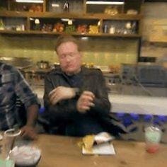 Definitive Proof Conan O'Brien Is The Greatest Man Ever Tv Head, Conan O Brien, Aubrey Plaza, Late Nights, Comedy, Happy Birthday, York, Thoughts, Live