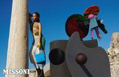 Missoni Fall Winter 2014/15 Campaign by Viviane Sassen   FashionMention