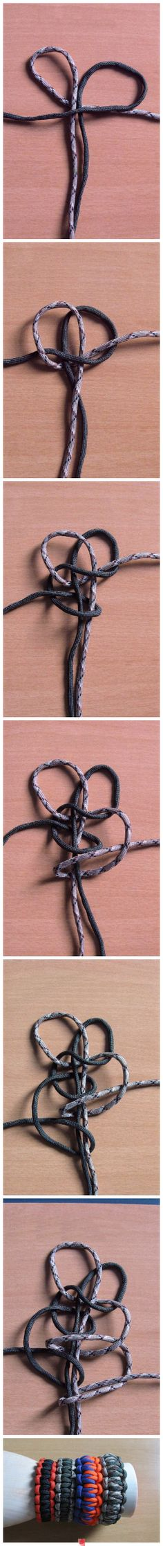paracord knotting